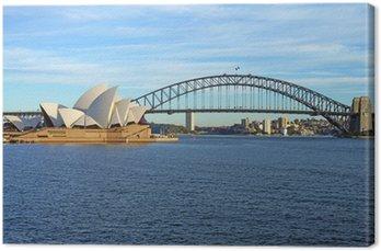 Obraz na Płótnie Sydney Harbour Bridge i Opera House
