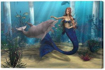 Syrenka i Delfin