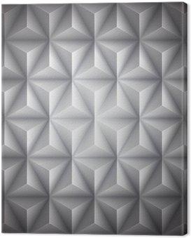 Obraz na Płótnie Szary Geometria abstrakcyjne low-poly tło papieru. Wektor