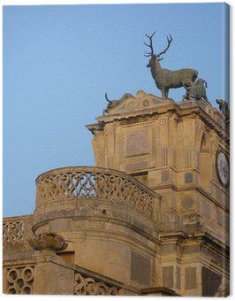 Obraz na Płótnie Szczegółowe wejście Anet Zamek Diane de Poitiers jelenia