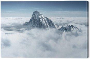 Obraz na Płótnie Szczyt w chmurach
