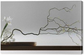 Obraz na Płótnie Szeroki sreen japoński ikebana
