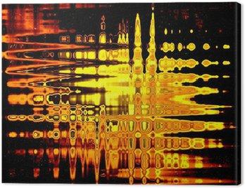 Obraz na Płótnie Szkło złoto abstrakcja