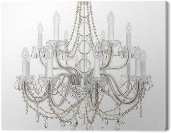 Obraz na Płótnie Szkło Żyrandol Luxury