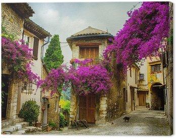 Obraz na Płótnie Sztuki piękne stare miasto w Prowansji