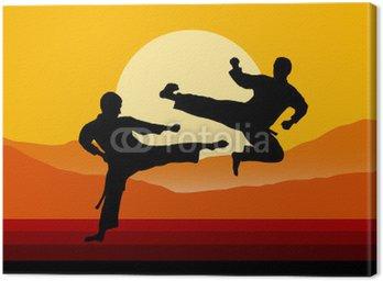 Obraz na Płótnie Taekwondo - 5
