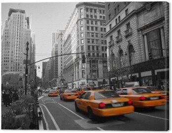Obraz na Płótnie Taksówki na Manhattanie