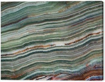 Obraz na Płótnie Tekstura kamieni szlachetnych onyks