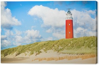 Obraz na Płótnie Texel latarni
