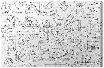 Obraz na Płótnie Tło geometria