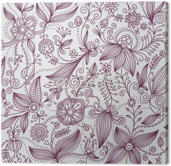 Obraz na Płótnie Tło kwiatowe