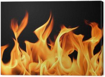 Obraz na Płótnie Tło płomienie