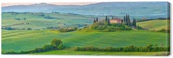 Obraz na Płótnie Toskania na wiosnę