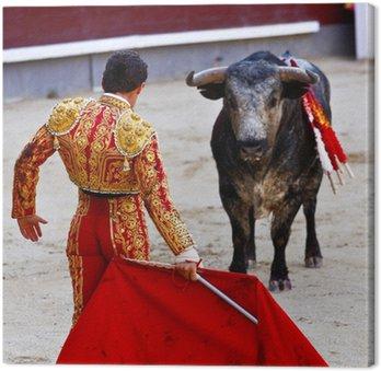 Obraz na Płótnie Traditional corrida - walki byków w Hiszpanii