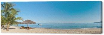 Obraz na Płótnie Tropikalna plaża panorama
