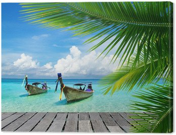 Obraz na Płótnie Tropikalnego morza