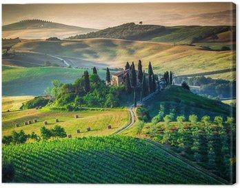 Obraz na Płótnie Tuscan country