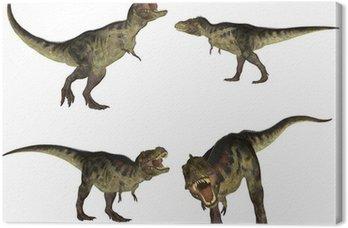 Obraz na Płótnie Tyrannosaurus Paczka