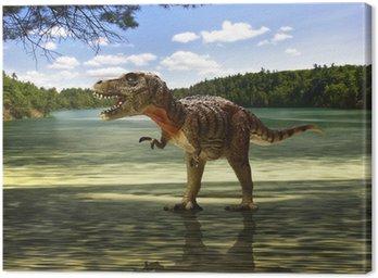 Tyranozaurem w poszukiwaniu jedzenia