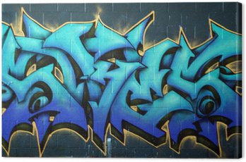 Obraz na Płótnie Ulica Graffiti spraypaint