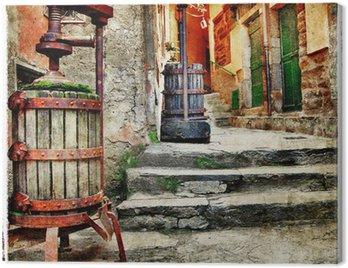 Obraz na Płótnie Ulice starego włochy