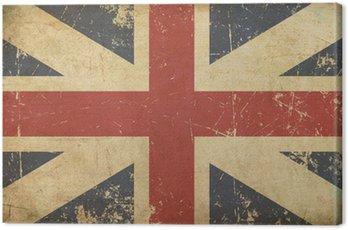 Obraz na Płótnie Union Jack 1606-1801 (Królewscy Colours) Flat Wieku