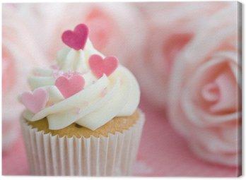 Obraz na Płótnie Valentine Cupcake