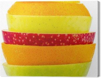 Obraz na Płótnie Verschiedne plasterki owoców
