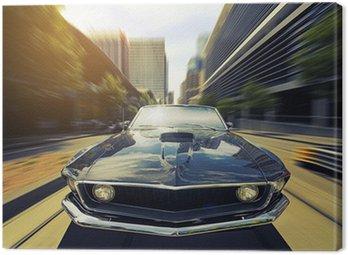Obraz na Płótnie Vintage Cabriolet