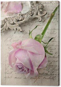 Obraz na Płótnie Vintage Rose