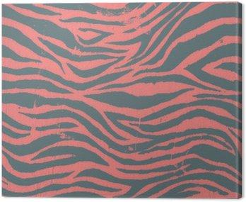 Vintage zebra czarno-czerwony wzór