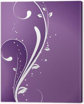 Obraz na Płótnie Violetta - Card Wedding Vector