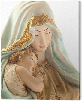Obraz na Płótnie Virgin z Jezusem