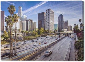 Obraz na Płótnie W centrum Los Angeles, California pejzaż