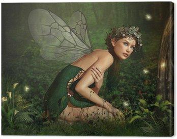 Obraz na Płótnie W Fairy Forest