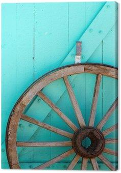 Obraz na Płótnie Wagon Wheel zachodnia