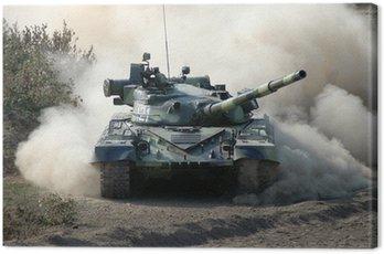 War. Tank w ruchu