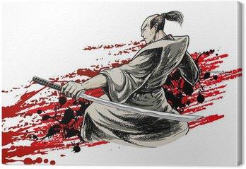 Obraz na Płótnie Warrior japan