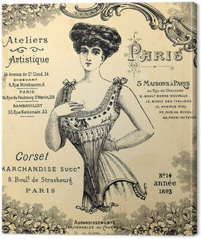 Obraz na Płótnie Warsztat corseterie