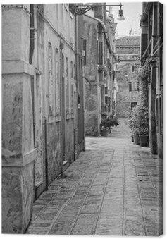 Obraz na Płótnie Wąska uliczka w Wenecja, Włochy
