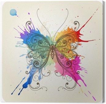 Obraz na Płótnie Wektor dekoracyjne motyl
