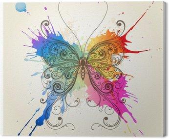 Wektor dekoracyjne motyl