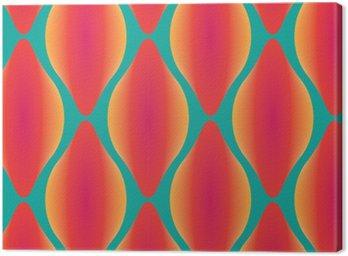 Obraz na Płótnie Wektor kolorowe abstrakcyjne bez szwu geometryczny wzór współczesnej