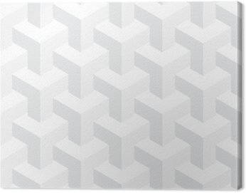 Obraz na Płótnie Wektor nierealne tekstury, abstrakcyjna projektowania, budowy iluzja, białe tło