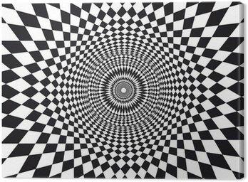 Obraz na Płótnie Wektor Złudzenie optyczne