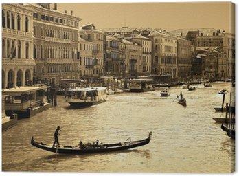 Obraz na Płótnie Wenecja w sepia