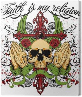 Obraz na Płótnie Wiara jest moją religią