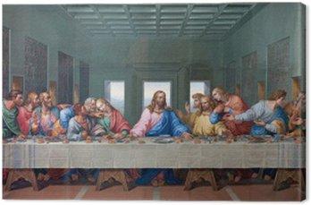 Obraz na Płótnie Wiedeń - mozaika ostatniej wieczerzy - skopiować Leonardo da Vinci