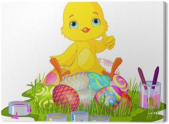 Obraz na Płótnie Wielkanoc Chick!