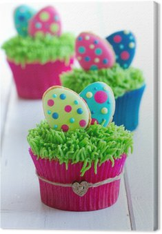 Obraz na Płótnie Wielkanoc Cupcakes
